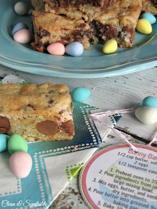 Mini-Egg Dessert Bars