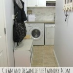 Clean and organize the laundry room. Free printable checklists included.