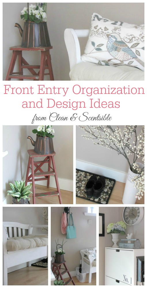 Greta front entry organization and design ideas!