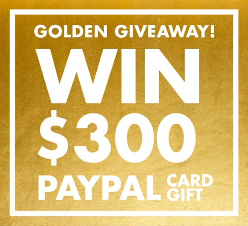 Win $300 PayPal CASH!!