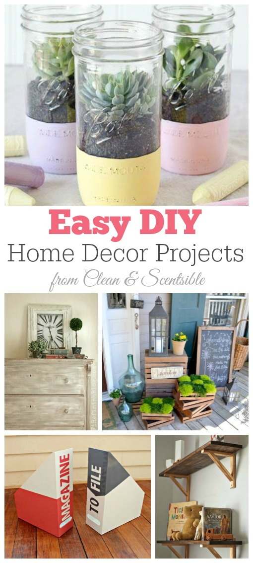 Easy diy home decor projects images for Easy home improvement projects