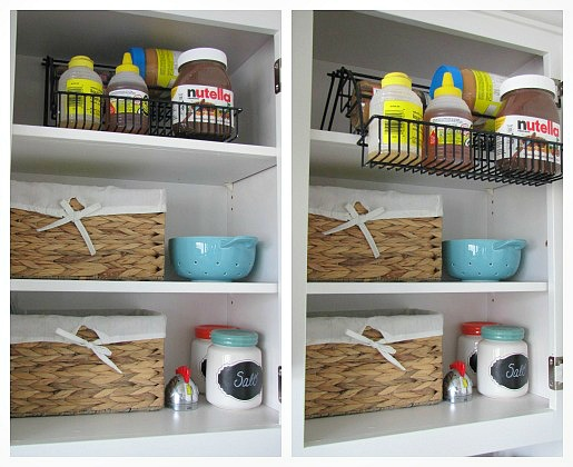 Awesome post on how to organize kitchen cabinets.  Lots of ideas!