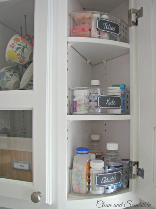 Great Ideas For How To Organize Kitchen Cabinets!