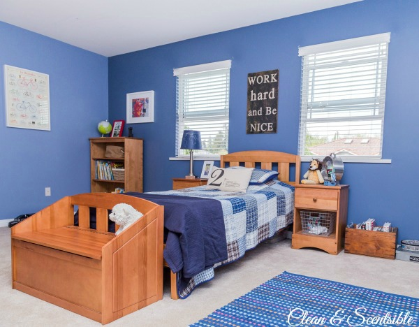 boys bedroom ideas {home tour} clean and scentsible