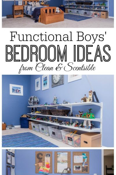 Boys Bedroom Ideas {Home Tour}