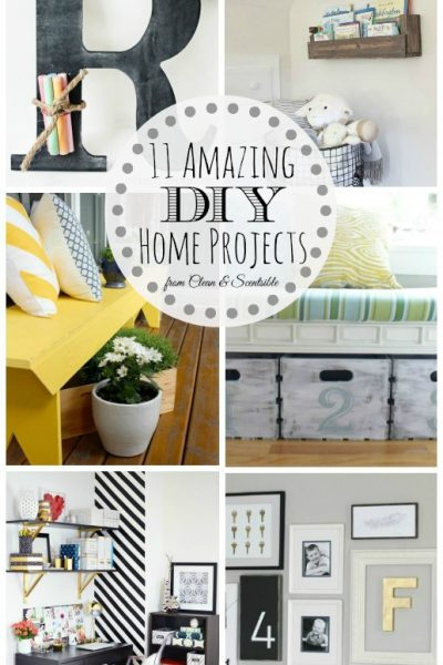11 DIY Home Projects