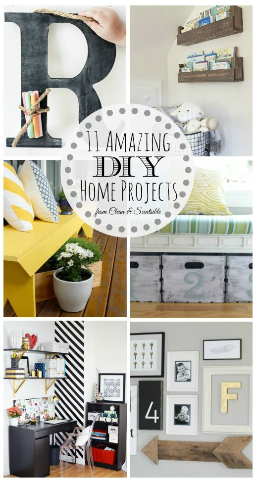 Awesome DIY Home Project ideas!