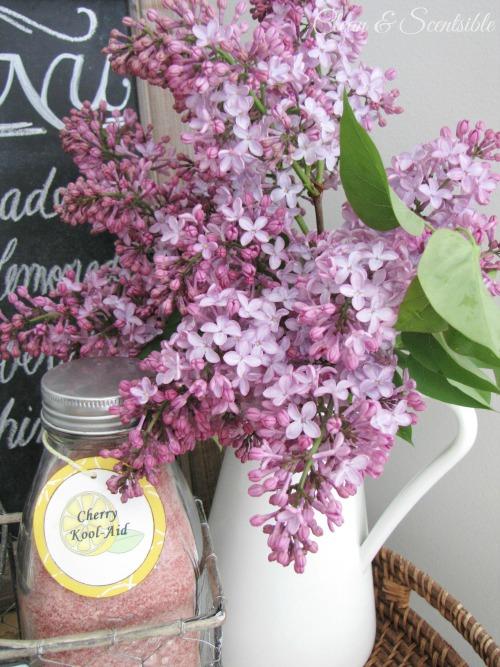 Pretty spring lilacs.
