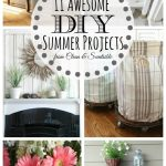 Great ideas for DIY summer projects!