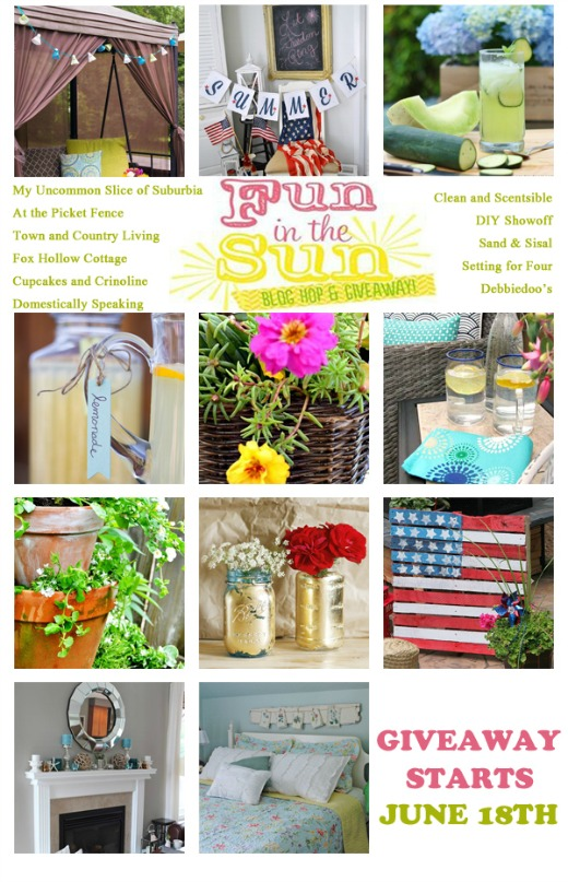 Lots of great summer decorating and project ideas!