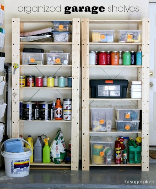 how to organize your garage pictures to pin on pinterest