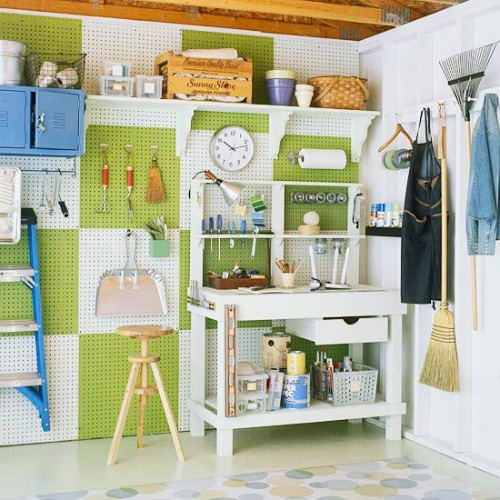How to organize your garage clean and scentsible Better homes and gardens house painting tool