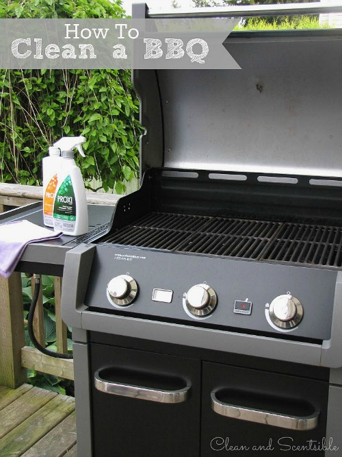 Great tutorial on how to clean a BBQ.  I must remember to do this!