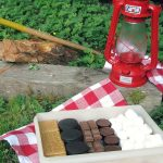 Smores Box - fill and air tight container with a variety of cookies and chocolates to mix and match custom smores!