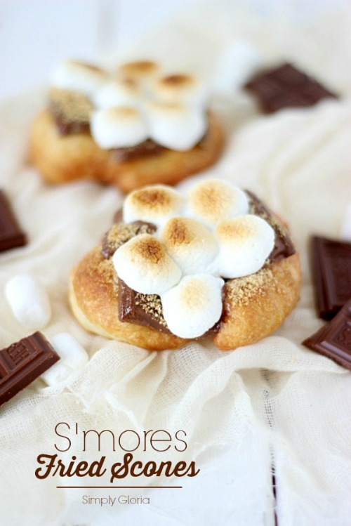 S'mores fried scones and other summer project ideas!