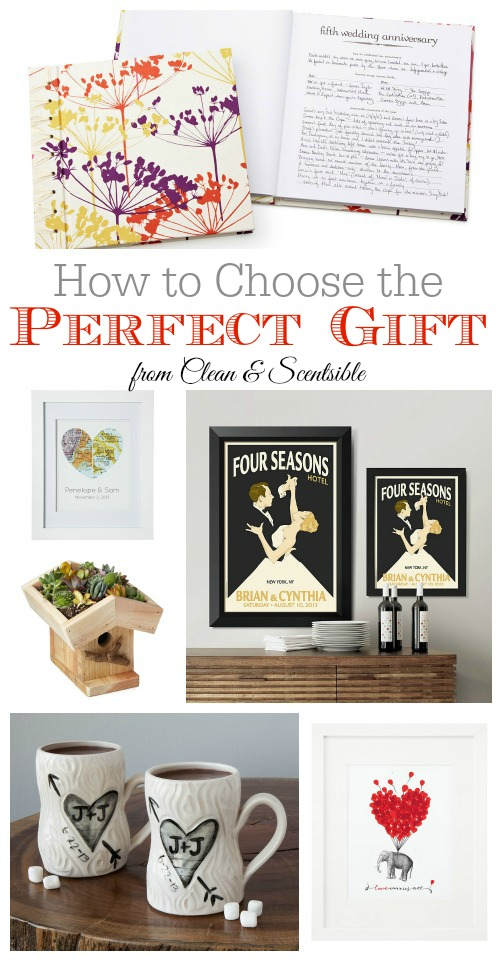 Great tips on how to choose the perfect gift.