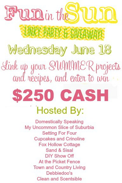 Summer link party and a chance to win $250 CASH!!