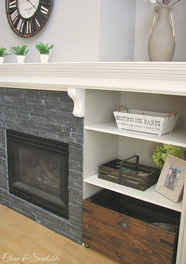 Great ideas to update your fireplace!