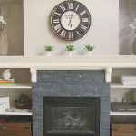 Great ideas to update your fireplace! // cleanandscentsible.com