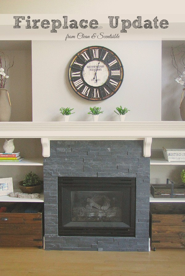 peachy great room fireplace ideas. Great ideas to update your fireplace  cleanandscentsible com Updated Fireplace and Mantel Clean Scentsible