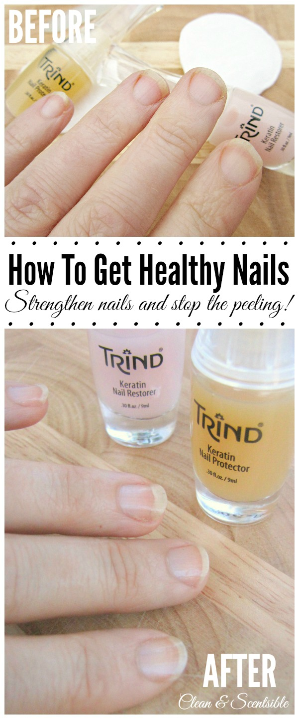How to Get Healthy Nails and Nail Care Giveaway - Clean and Scentsible