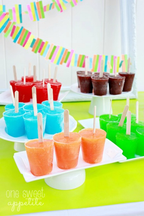 Jello Popsicles and lots of other tasty popsicle ideas!