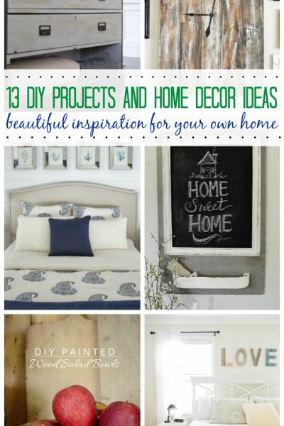Love all of these DIY and home decor ideas! // cleanandscentsible.com