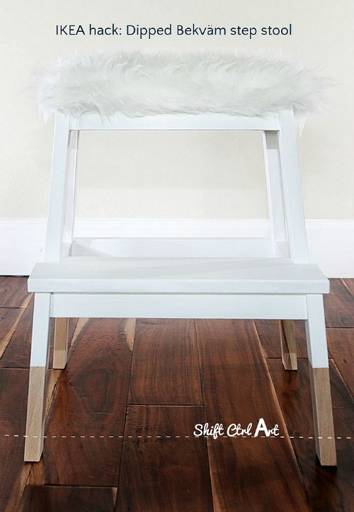 IKEA-hack-tejn-bekvam-step-stool-dipped-upholstered- & Ikea Hacks: BEKVAM Step Stool - Clean and Scentsible islam-shia.org
