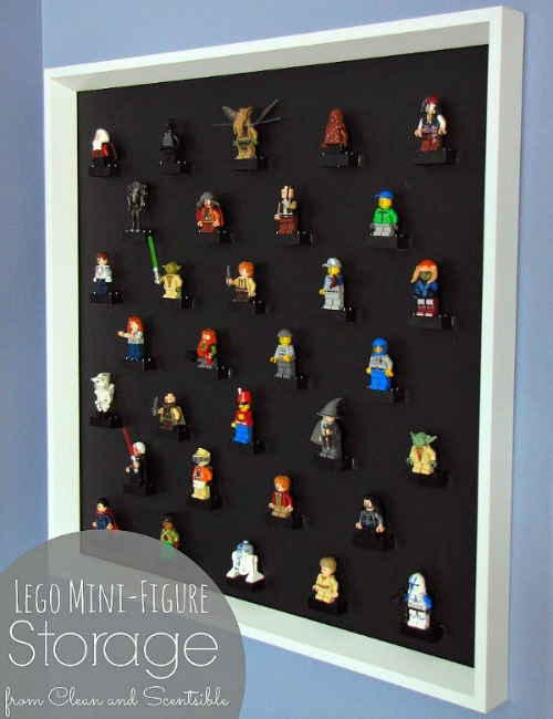 Lego Min-Figure Storage Display.