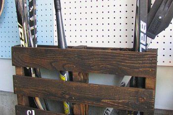 Pallet Sports Equipment Storage