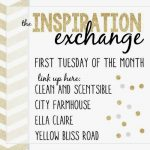 Come join in the August Inspiration Exchange linky party!