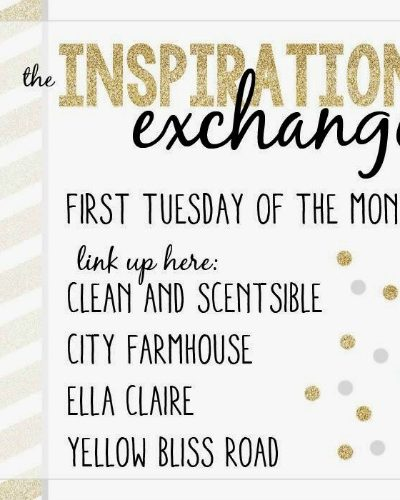 August Inspiration Exchange Link Party