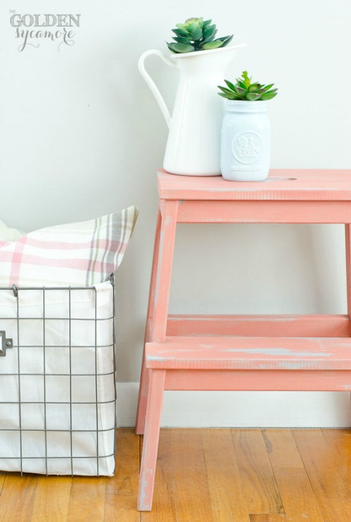 Easy Ikea hacks using the Ikea BEKVAM step stool. // cleanandscentsible.com