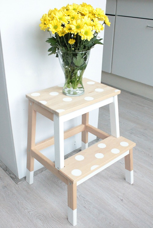ikea hacks bekvam step stool clean and scentsible. Black Bedroom Furniture Sets. Home Design Ideas