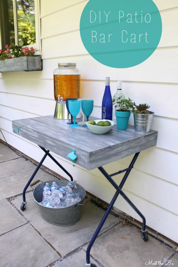 patio bar cart