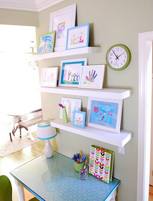 Great ideas for creating a homework station in any sized space! // cleanandscentsible.com