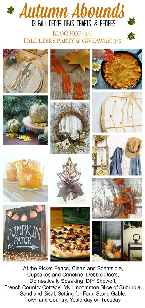 Awesome ideas for fall including fall decor, crafts, and recipes! // cleanandscentsible.com