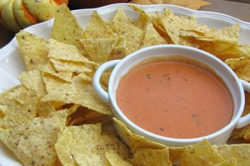 Pumpkin Nacho Cheese Dip