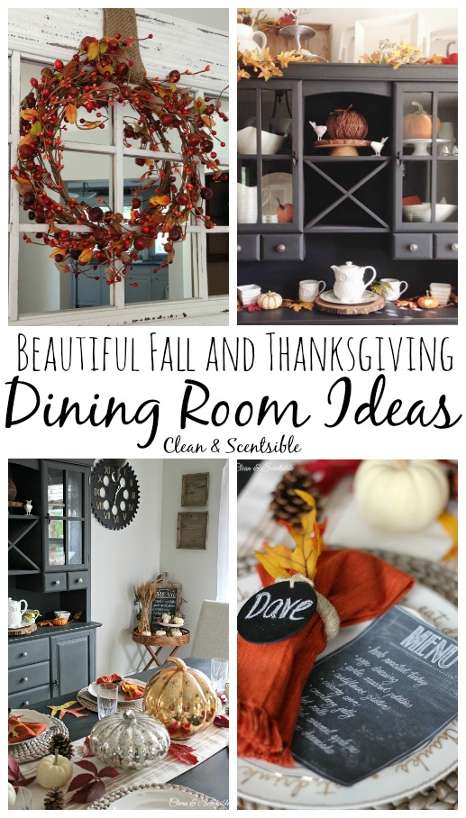 Beautiful fall decorating ideas!