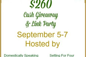 Fall Link Party and $260 Giveaway!