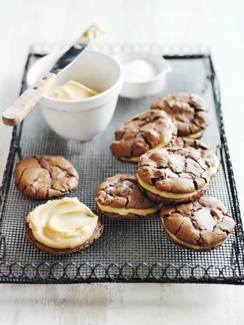 salted_caramel_brownie_sandwich_cookies