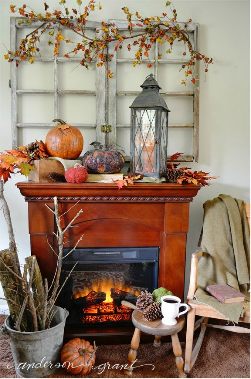 Beautiful fall decor ideas for your home clean and - Fall decorations for home ...