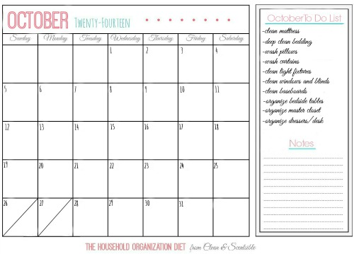 Calendar HOD October resized