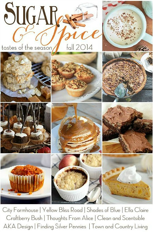 Delicious collection of favorite fall recipes.