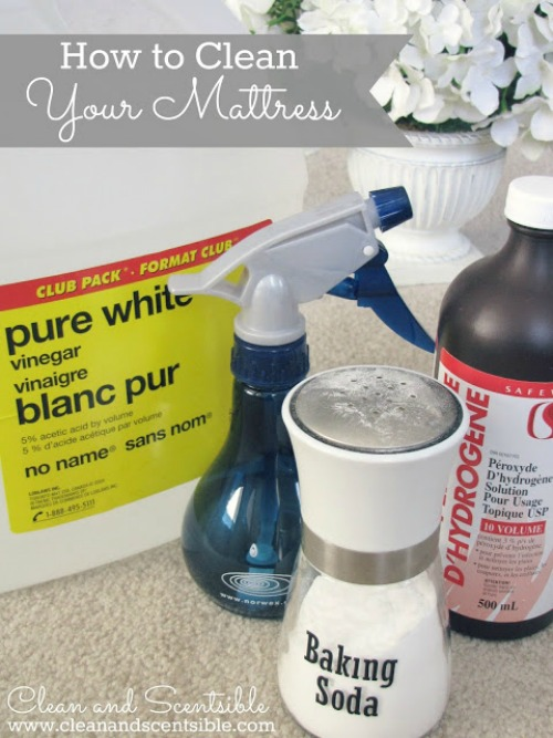 How to clean your mattress - I must do this! // cleanandscentsible.com