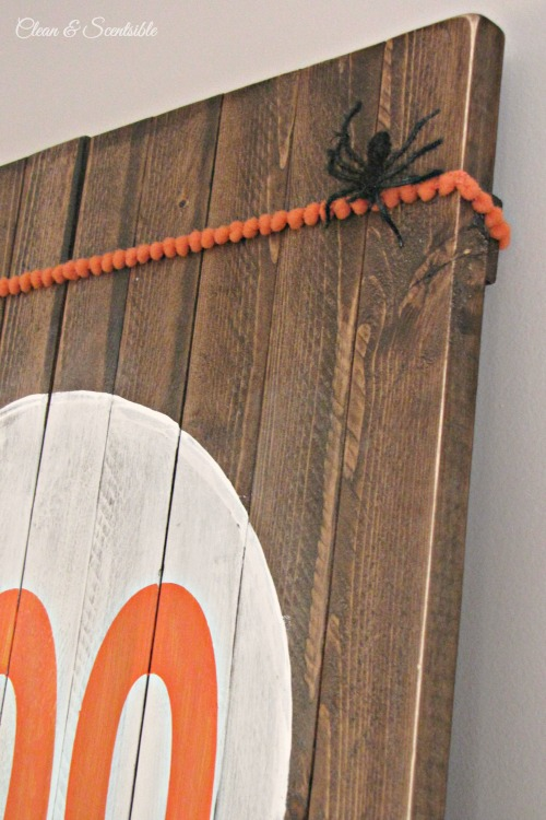 Rustic Halloween Sign Tutorial.