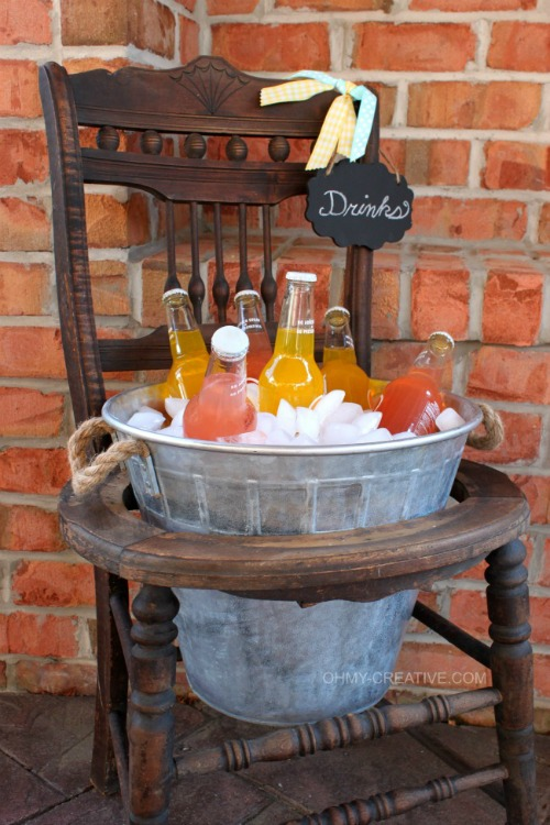 Fabulous collection of rustic DIY projects for your home. These are totally do-able! // cleanandscentsible.com