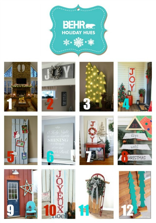 DIY Christmas projects.