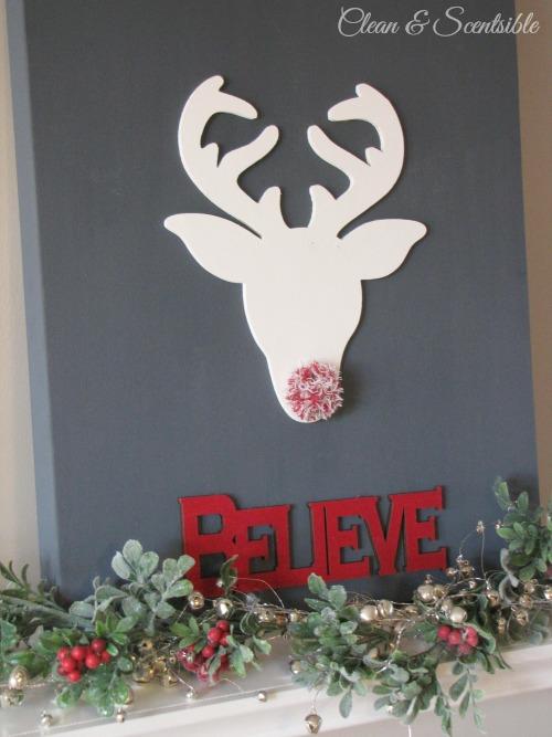 Believe Christmas Canvas.