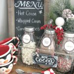 Candy Cane Hot Cocoa Bar.